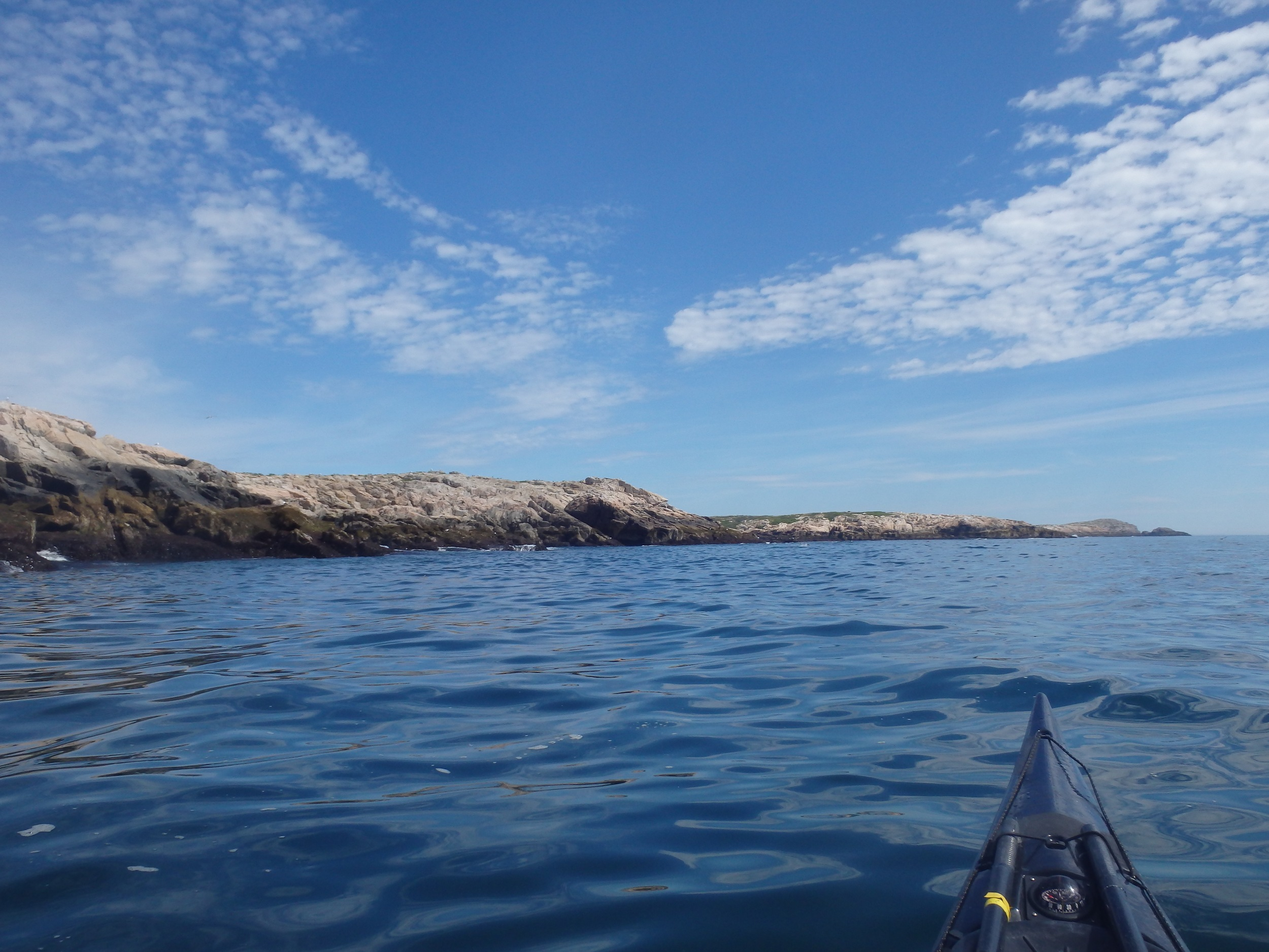 Approaching Wood Cove