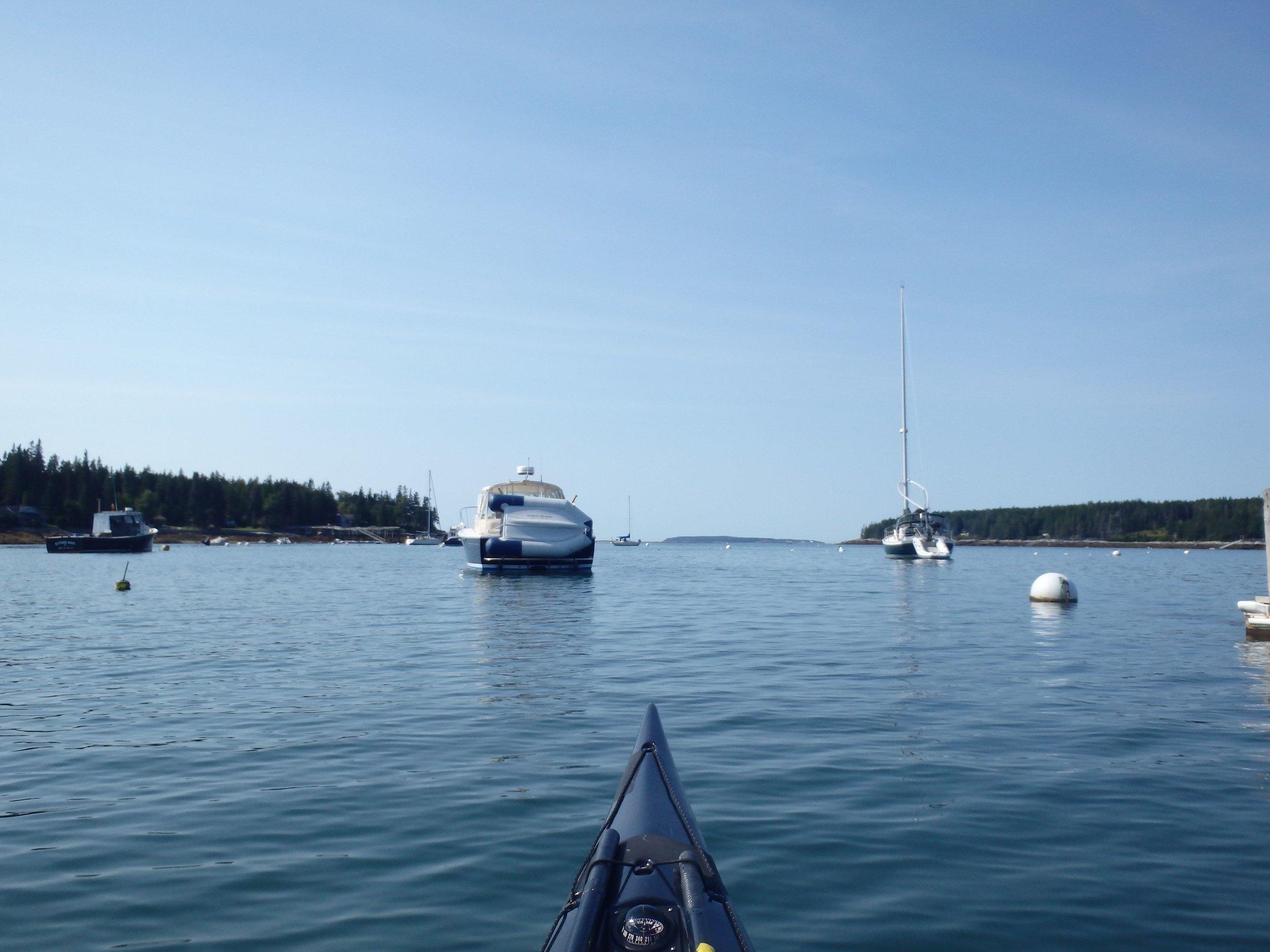Leaving Port Clyde
