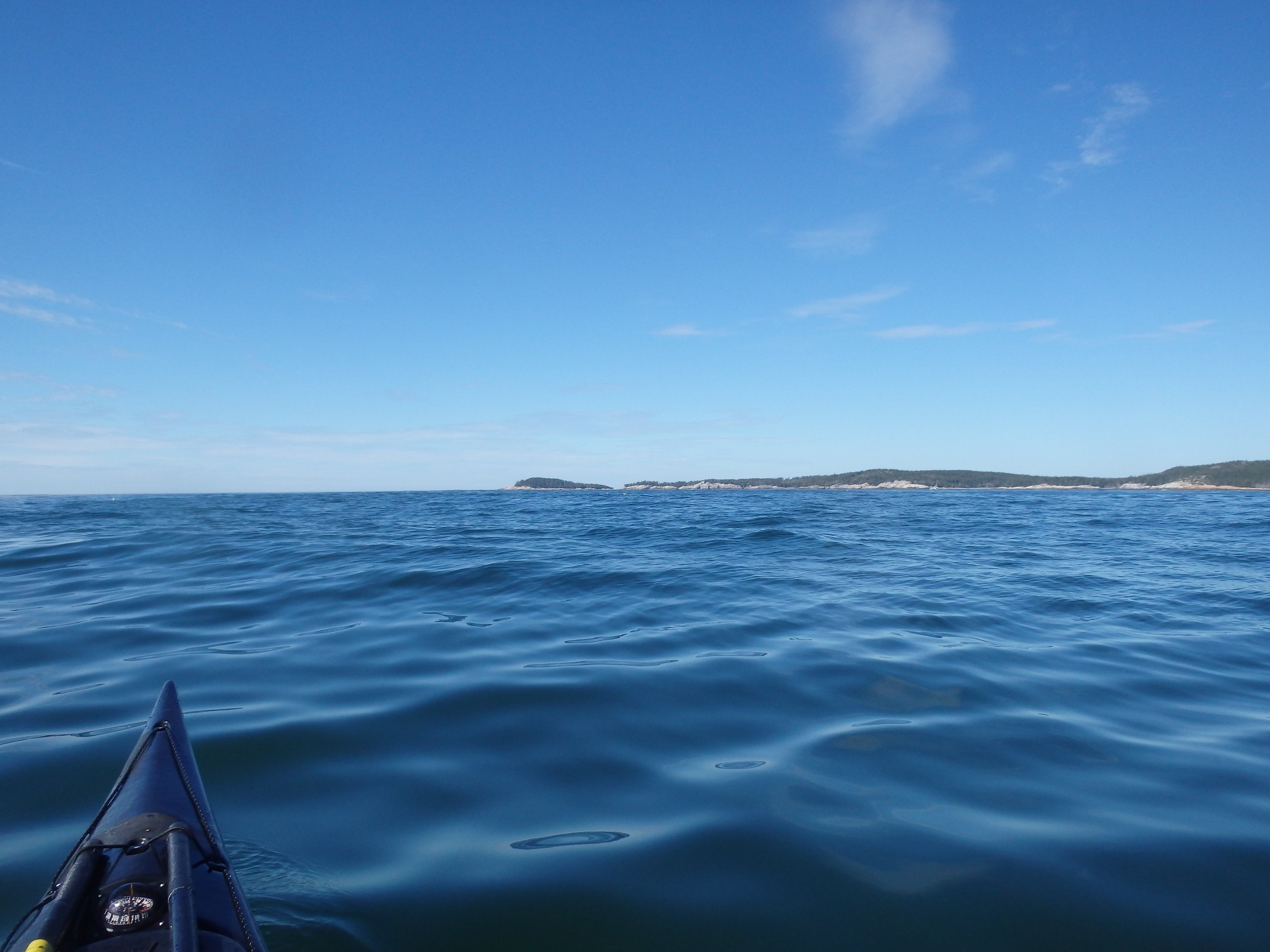 Crossing southern point with Western Ear in the distance
