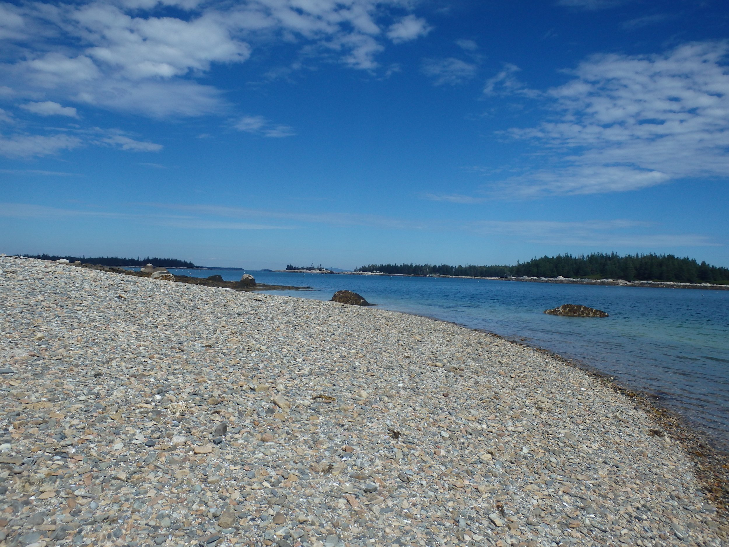 View from Flake Island