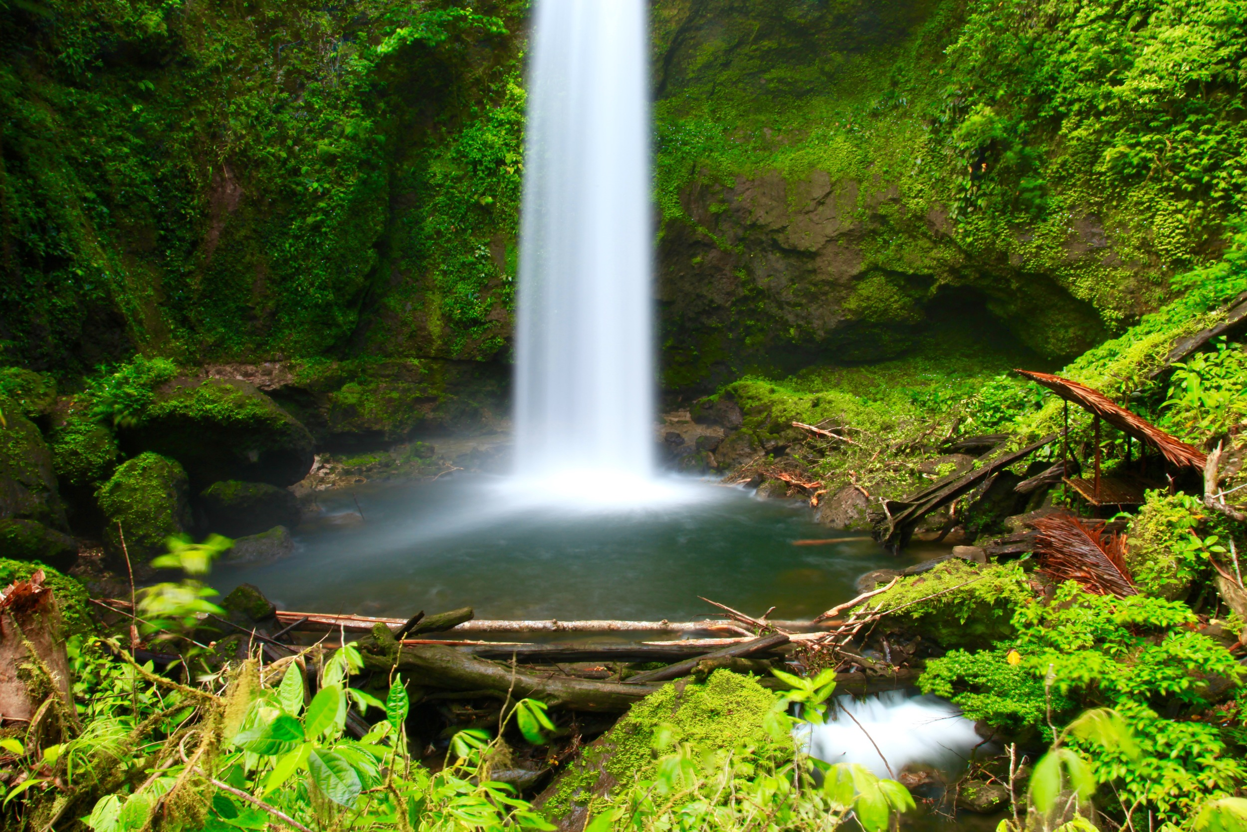Papua New Guinea Waterfall