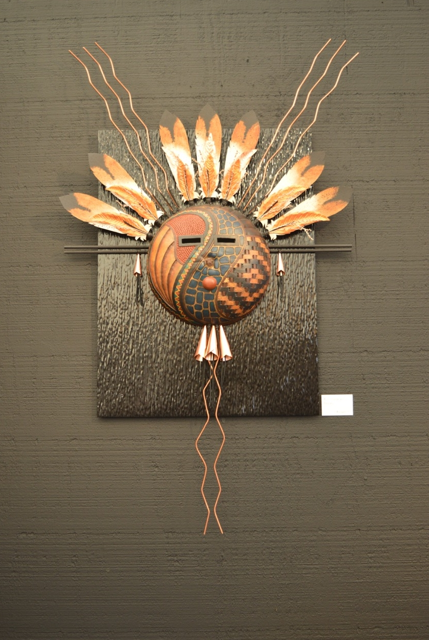 Copper Feather Mask 1