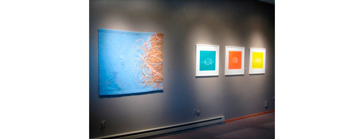 Northwind Arts Center, Port Townsend, WA 2008 , Nesting Series, Tapestry and Woodcuts
