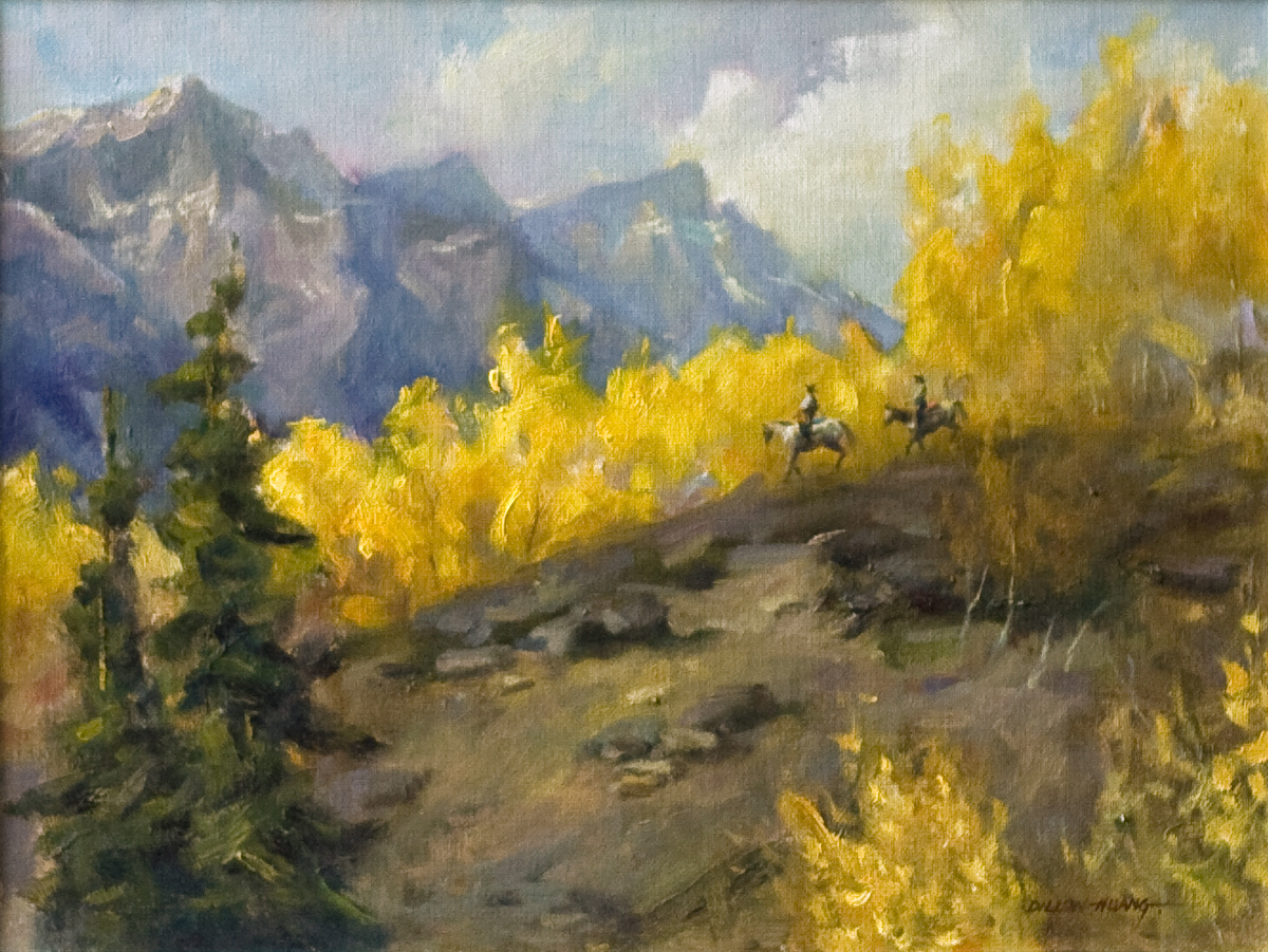 Cowboy Country | Oil | 12 x 16 | $1,575 USD