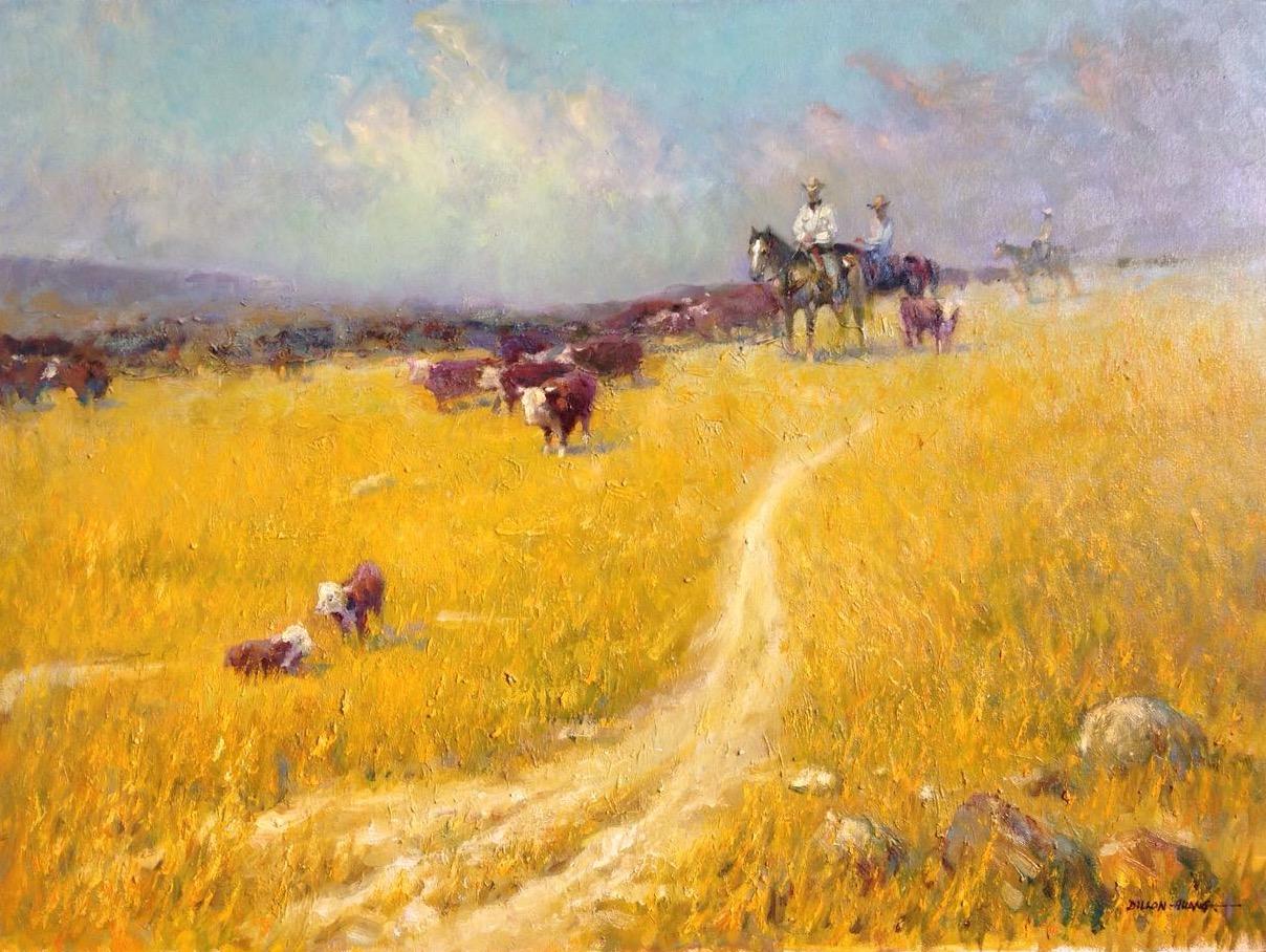 Golden Fields   Oil   18 x 24   $2,625 USD