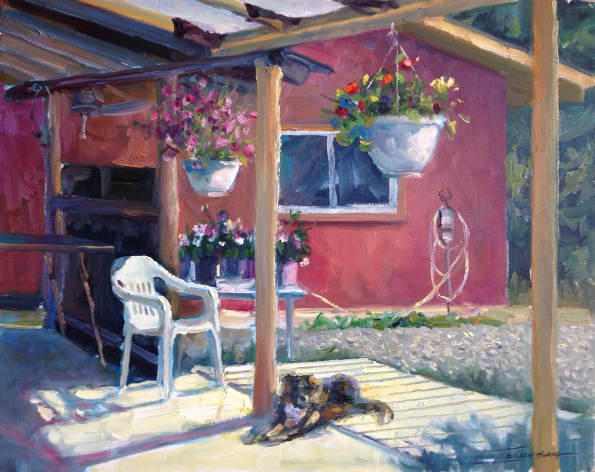 Lazy Afternoon   Oil   16 x 20   $2,225 USD