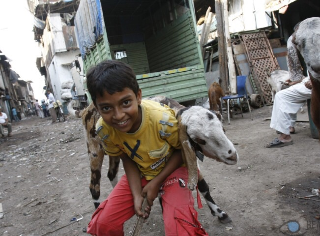 The children of Dharavi. PC: Reality Tours