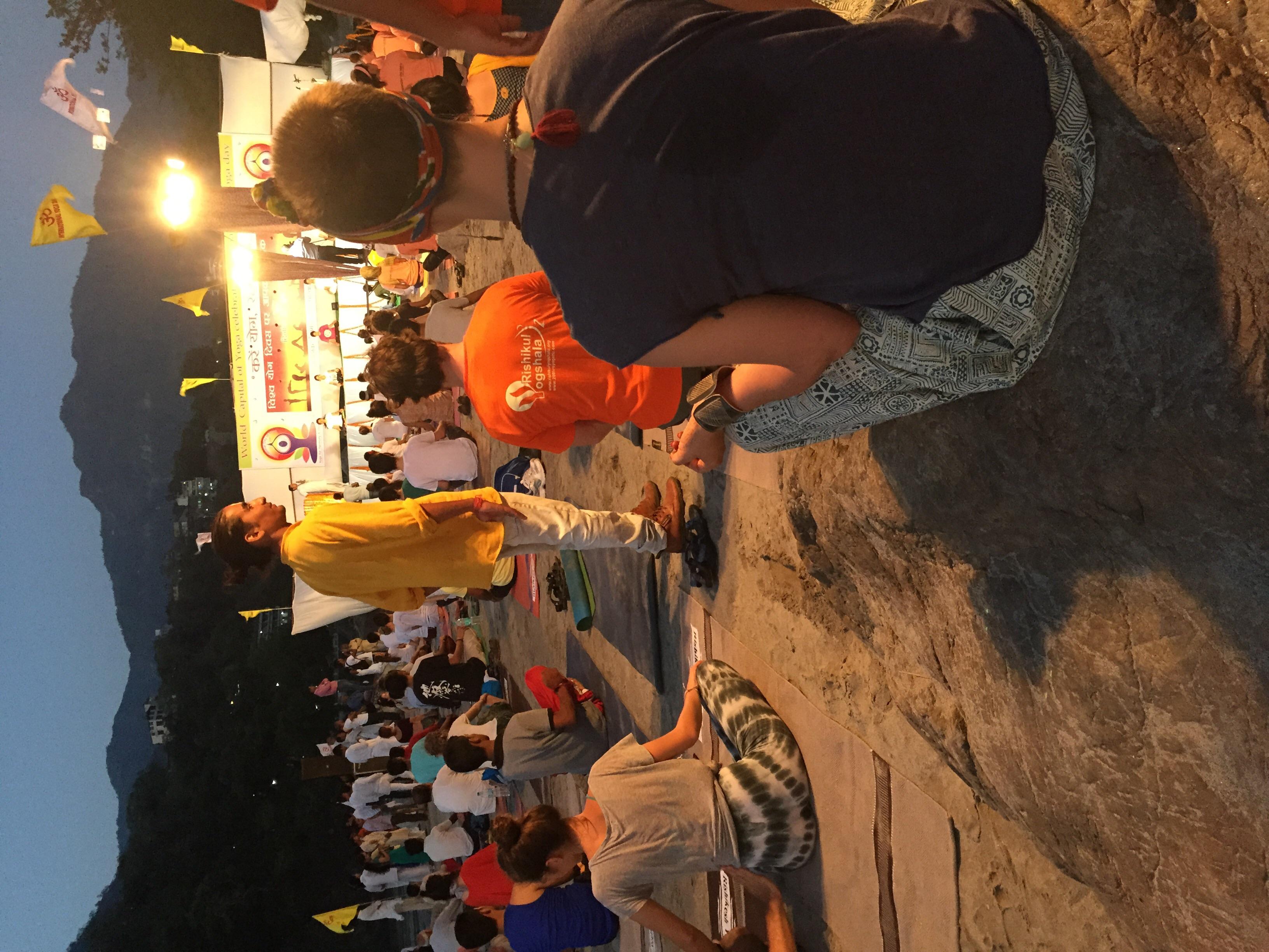 Yoga in Rishikesh to celebrate World Yoga Day