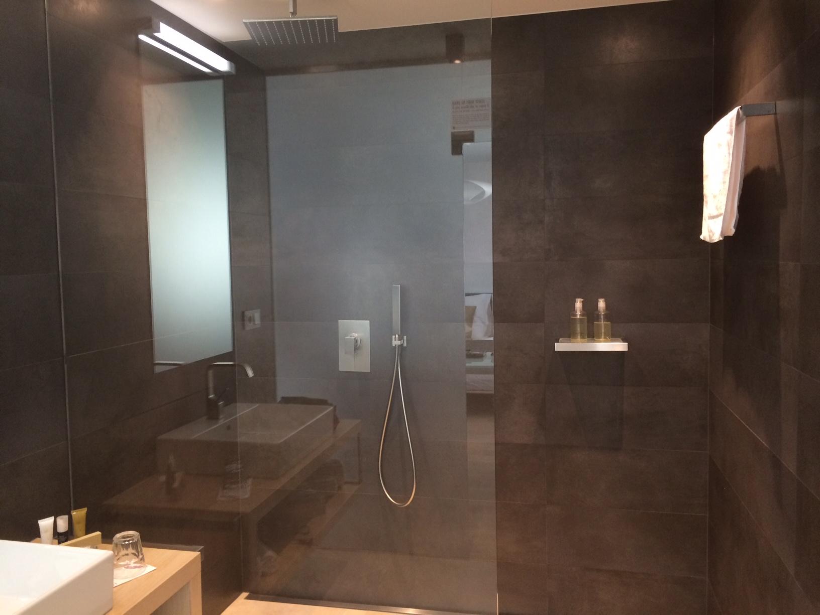 The insanely amazing rainhead shower