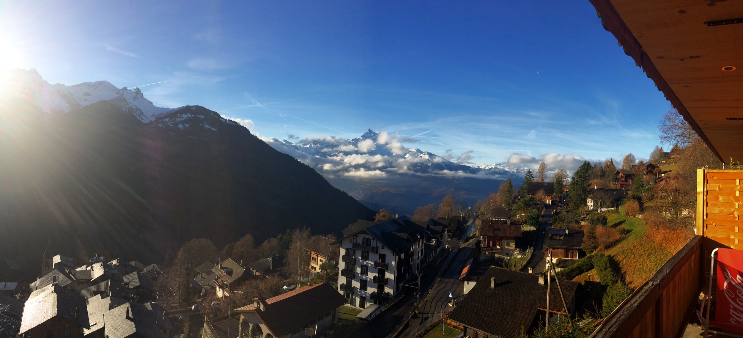 Bonjour from one of the most stunning sanctuaries in my travel arsenal: Gryon, Switzerland.