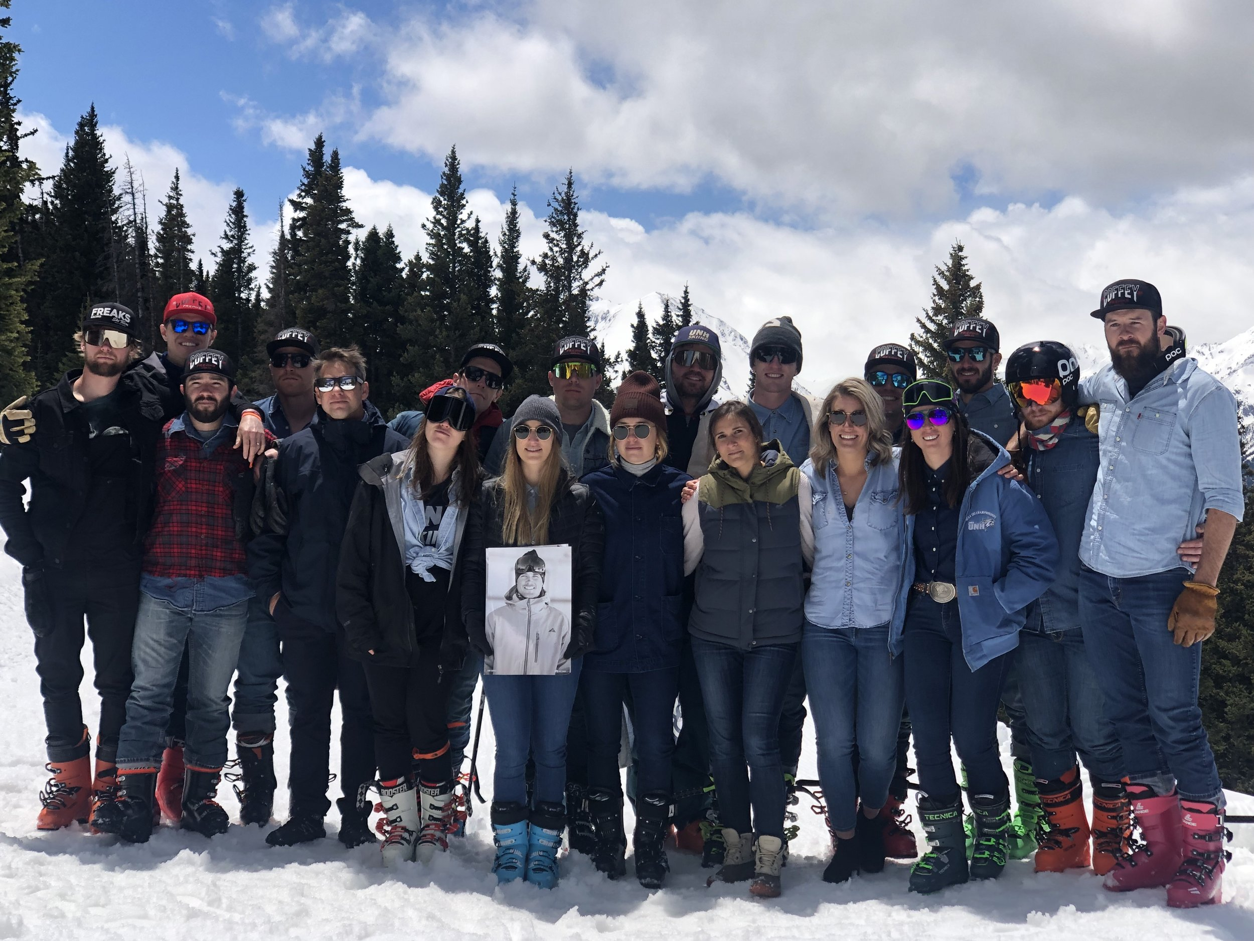 UNH Ski Team at Sam's Memorial