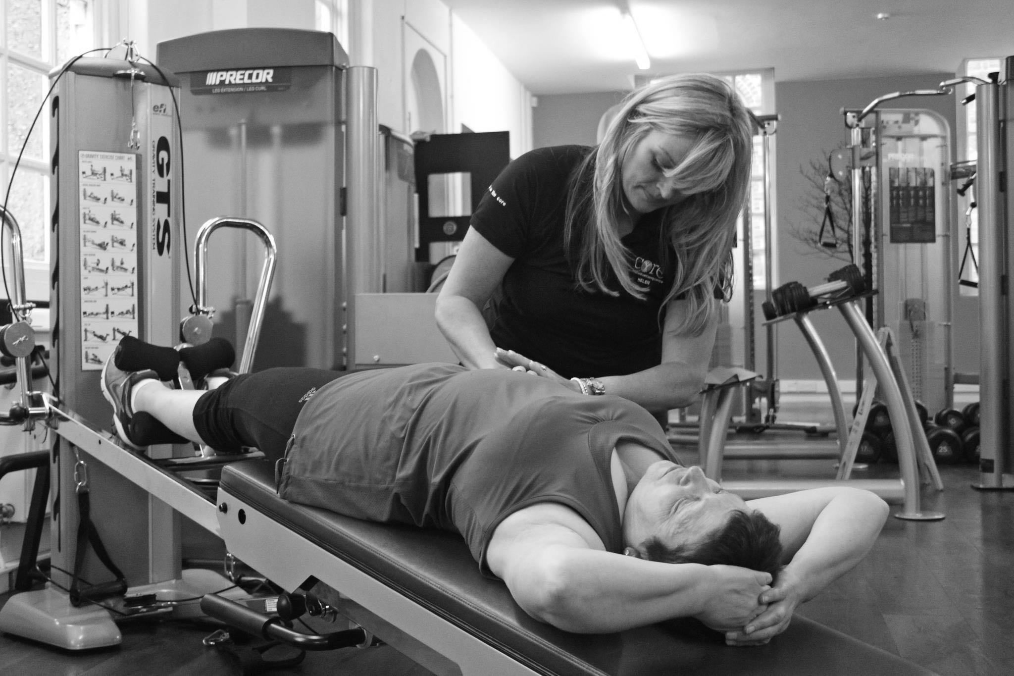 Fine tweaking with trigger point myofascial release