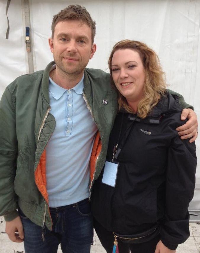 BLUR - DAMON ALBARN TALKING CANCER, FARMS AND THE DARK