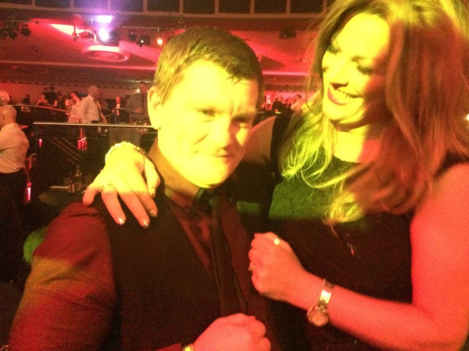 RICKY HATTON HOST OF NATIONAL FITNESS AWARDS 2014