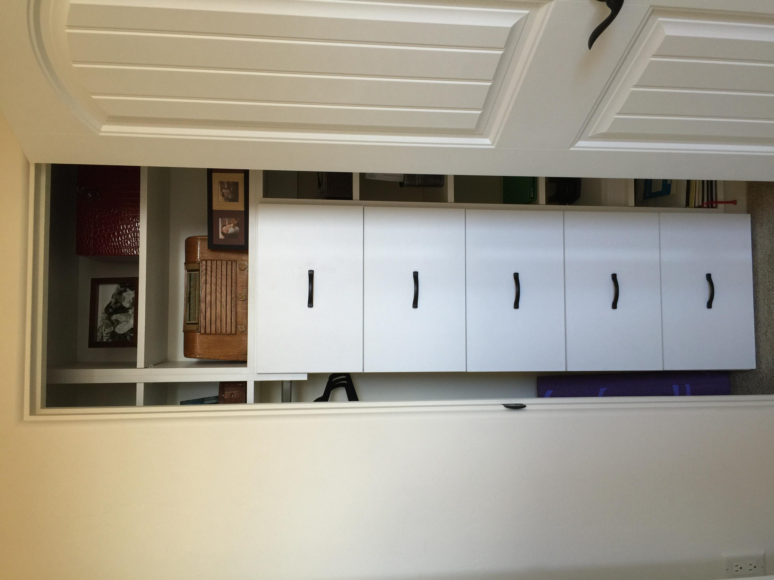 Closet file drawers