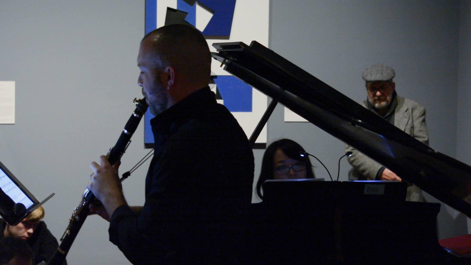 Performing Michael Finnissy's  Clarinet Sonata with Michiko Saiki @Toledo Museum of Art's collaboration with BGSU's Contemporary Doctoral Program, EAR | EYE (2015)