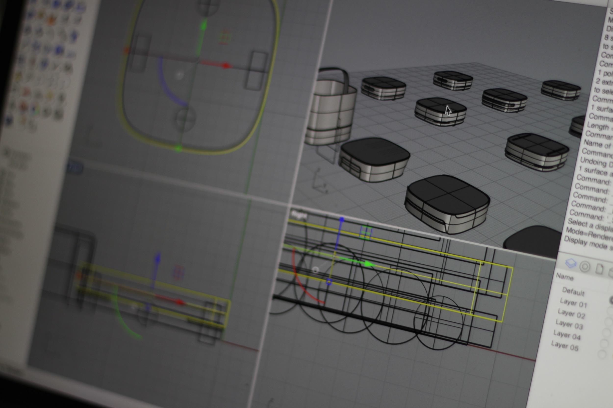 CAD form development.