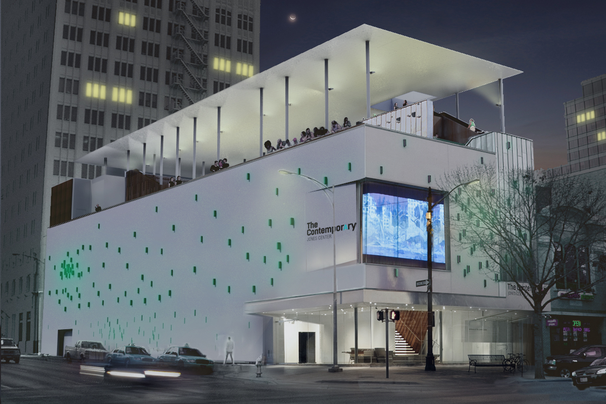 While in Austin, visit The Contemporary--a beautiful museum in the heart of downtown.