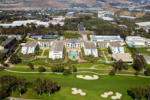 Hilton La Jolla Torrey Pines — The spectacular Torrey Pines Golf Course is right next door!