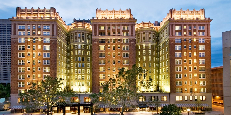 The Skirvin Hilton in Oklahoma City