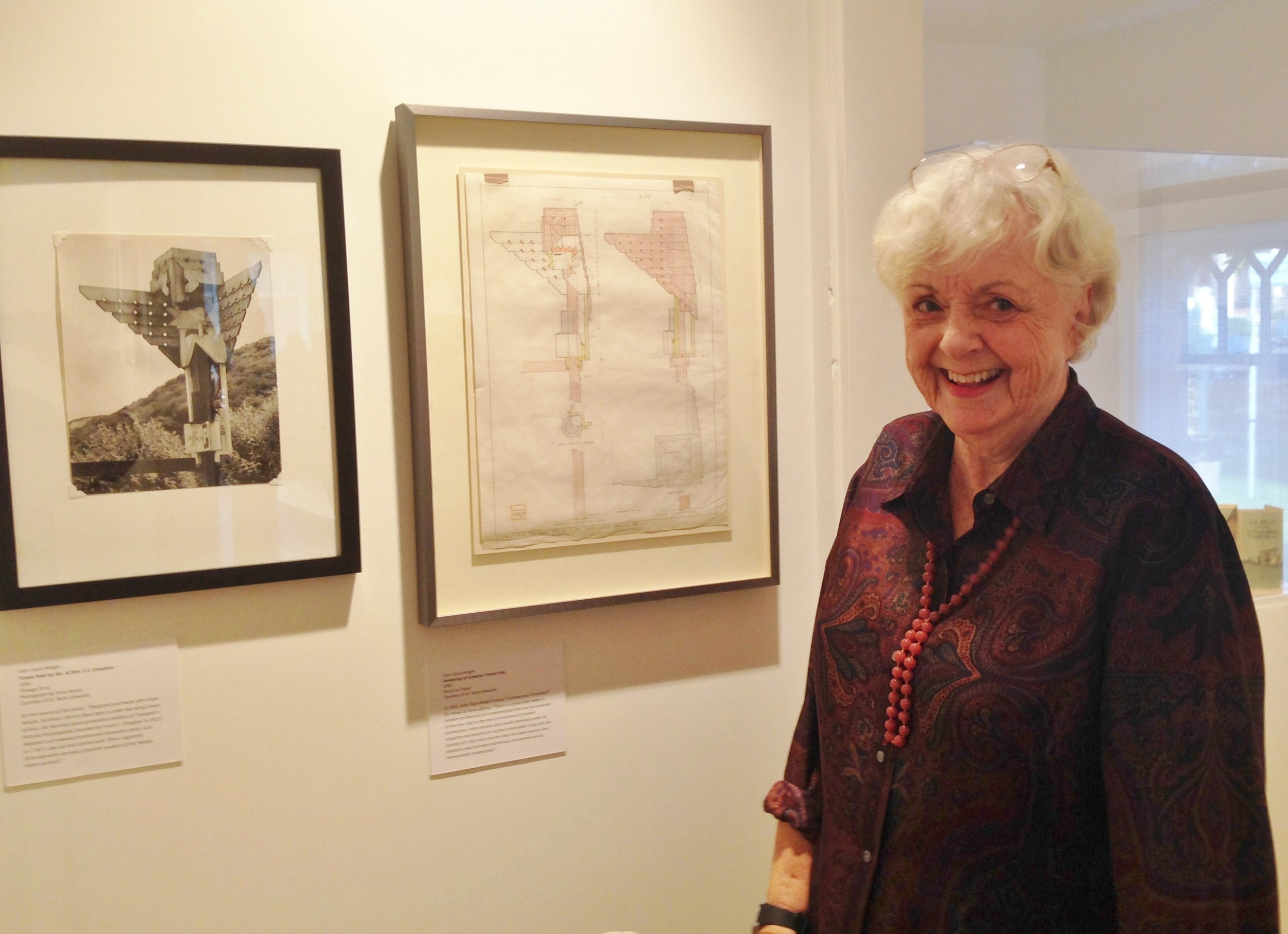 Betty Edwards, author of Drawing on the Right Side of the Brain