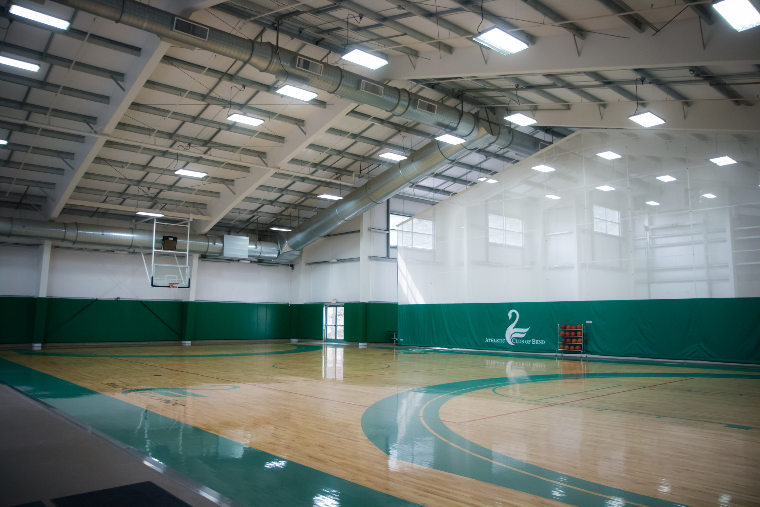 Two Full Size Gymnasiums