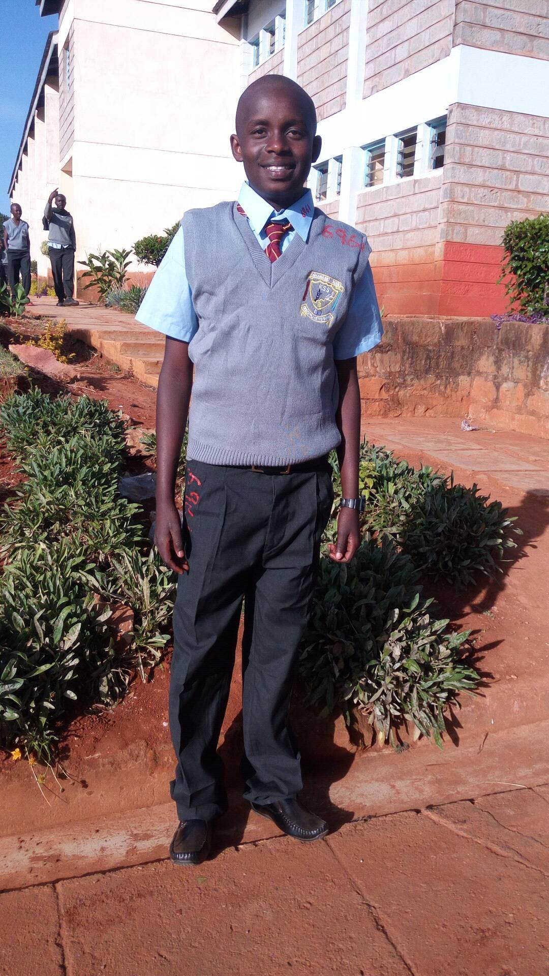 Charles started secondary school.