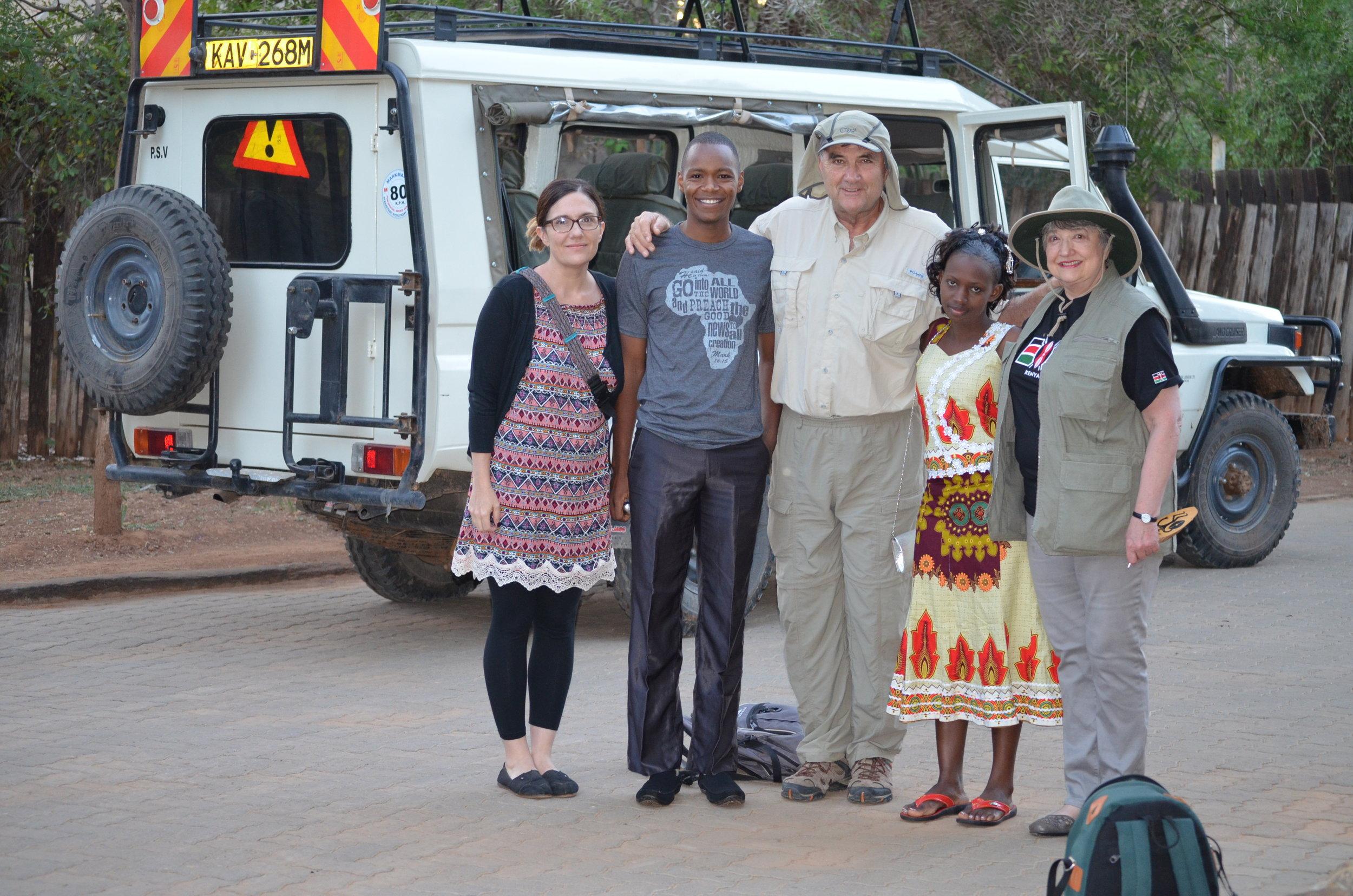 We had a great safari in Samburu (complete with mzungu safari gear).