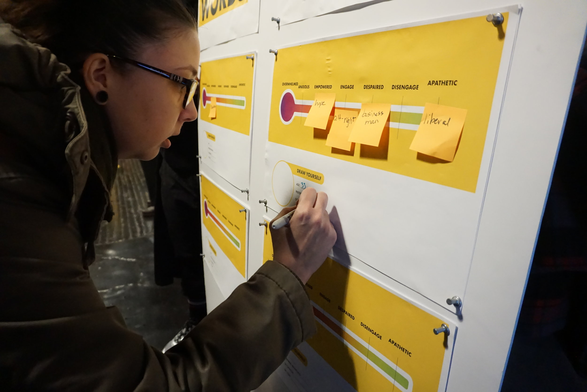 009 Participants were invited to post their trigger words on a spectrum and share some information about themselves..JPG
