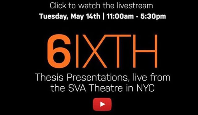 Make sure to join us today at 11AM EST for our student  thesis presentations or watch on our live stream. Link in bio!