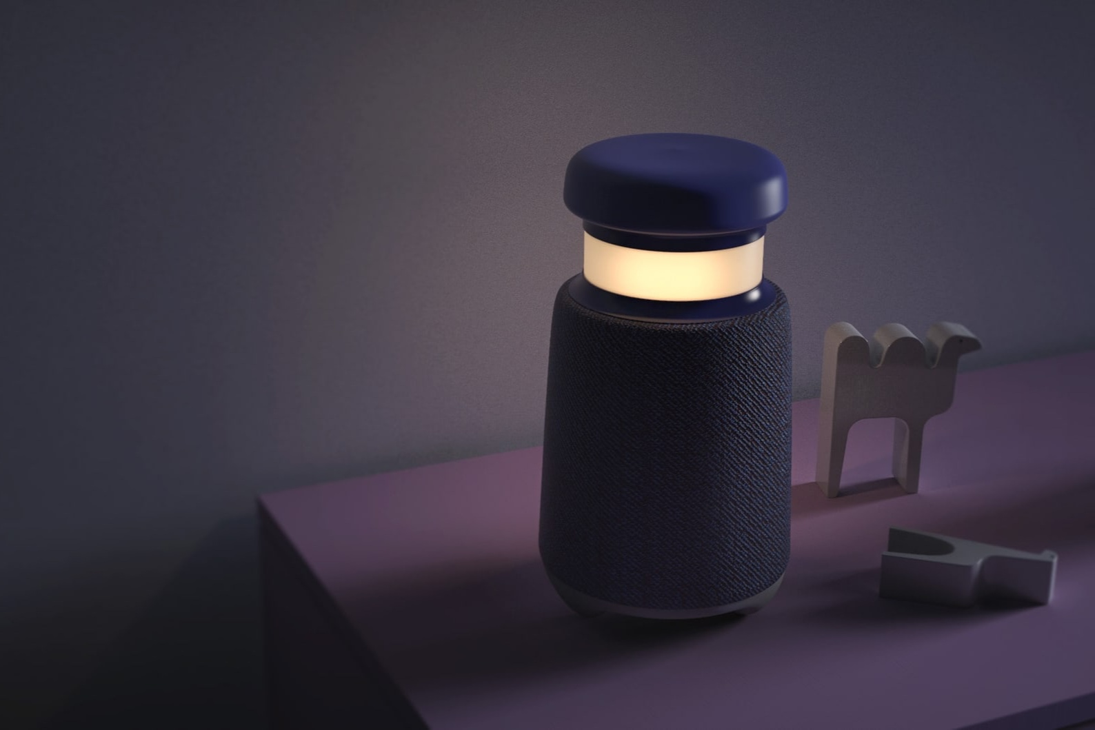 Roger  acts as a nightlight and a radio. The two functions work in unison to create an age appropriate bedtime ritual.