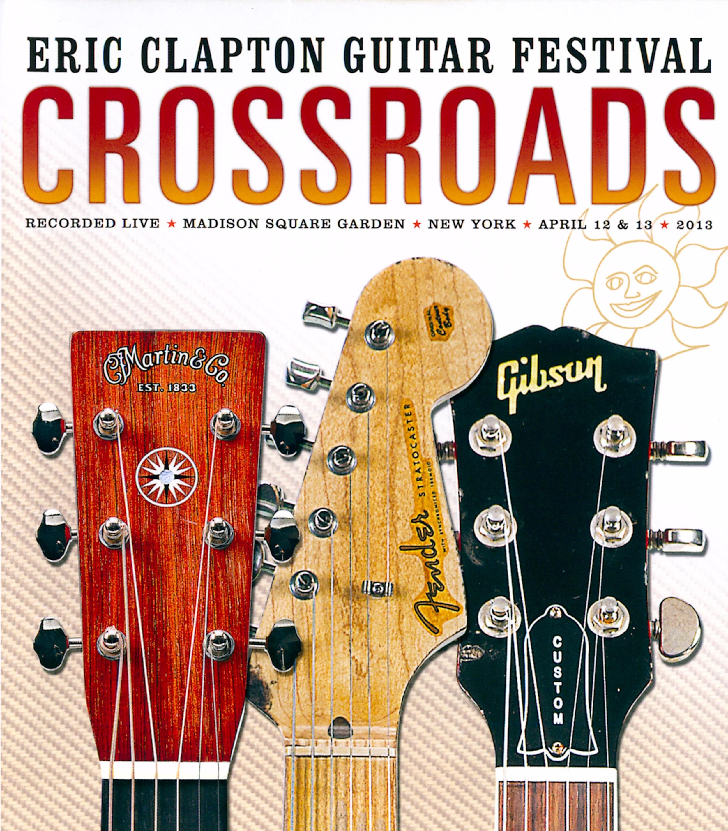 "Eris Clapton's ""Cross Roads"" Guitar Festival DVD & CD (Live Vocals)"