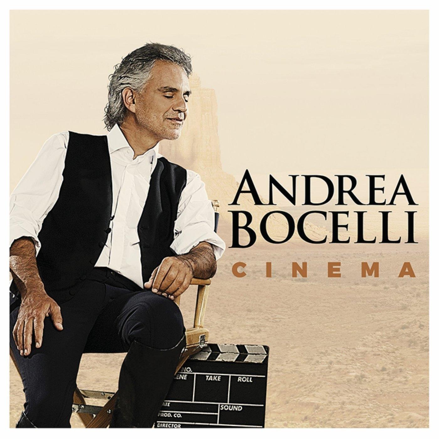 """Andrea Bocelli, 'Cinema' Nelle tue mani (From """"Gladiator"""")(Vocals)"""