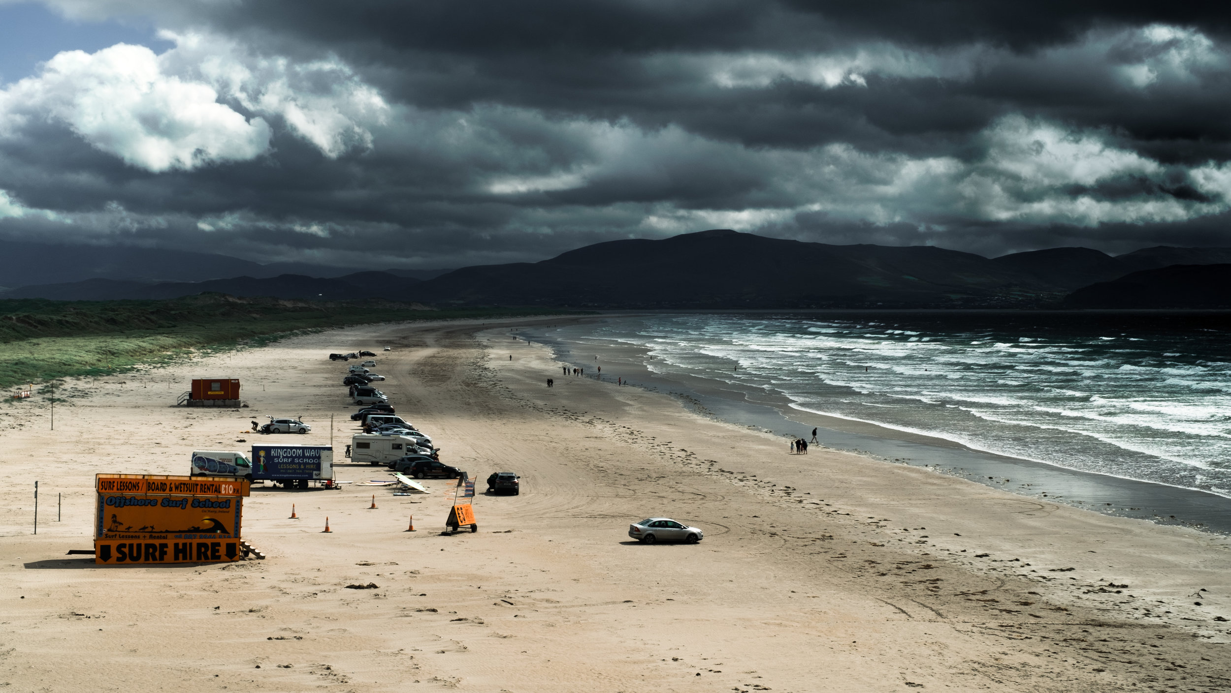 Inch Beach, on our way out to Dingle, Ireland