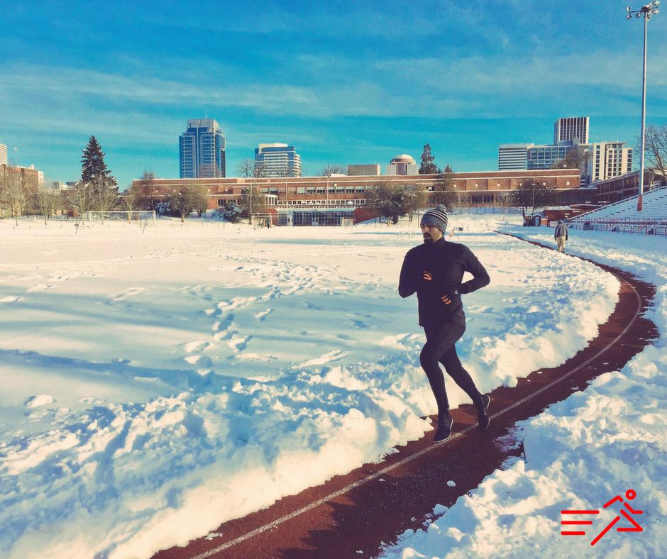 In June 2017,   Daniel Hererra  set the Mexican 1 Mile National Record (3:56.13). This photo was taken of him in January 2017, several months before his first Sub-4 Minute Mile and national record.