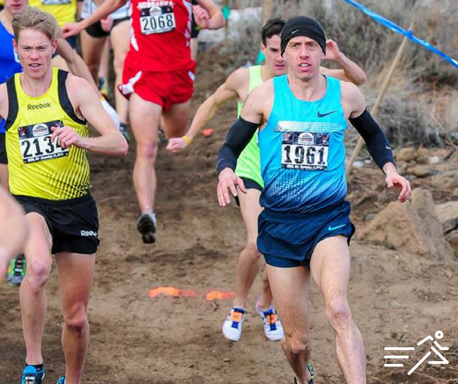Alan competed in the final cross country race of his professional running career at the 2013 USATF Club Cross Country Championships, held in Bend, Ore.  Photo courtesy of  Michael Scott .