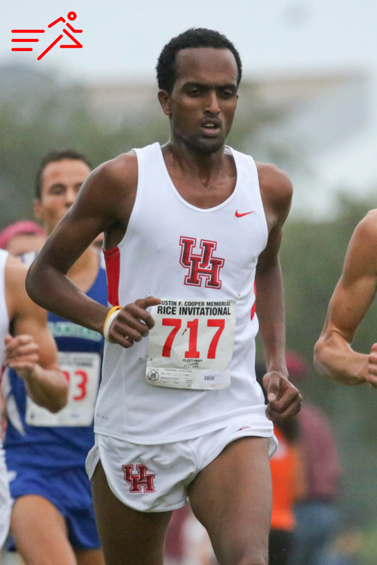 Yonas Tesfai was Mr. Everything during his time at UH. Once he chose to believe in himself he was a competitive force from 800m on the track to 10,000m in XC.