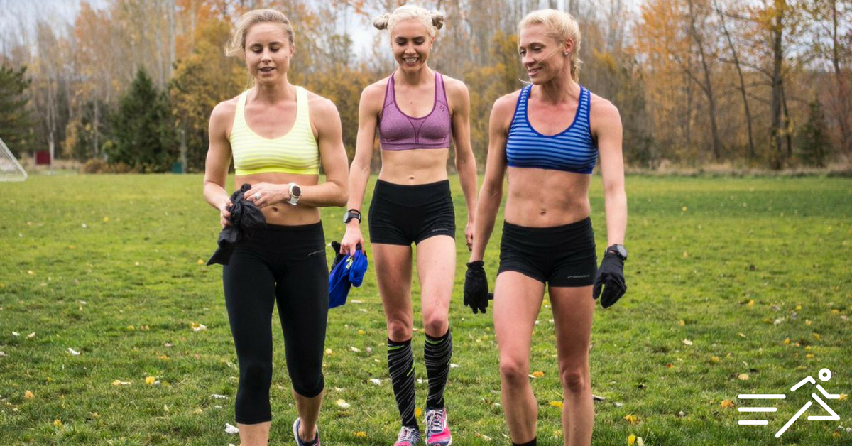 Brooks Beasts (from left to right) Jess Tonn, Hannah Fields, and Katie Mackey.