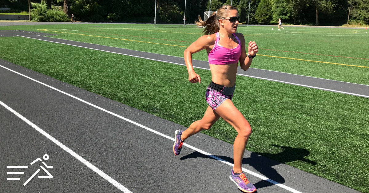 Tara Welling  is the most hopeful runner I've ever coached. She has rebounded from so many difficult setbacks and yet, despite it all, she manages to become an improved version of herself with each comeback.