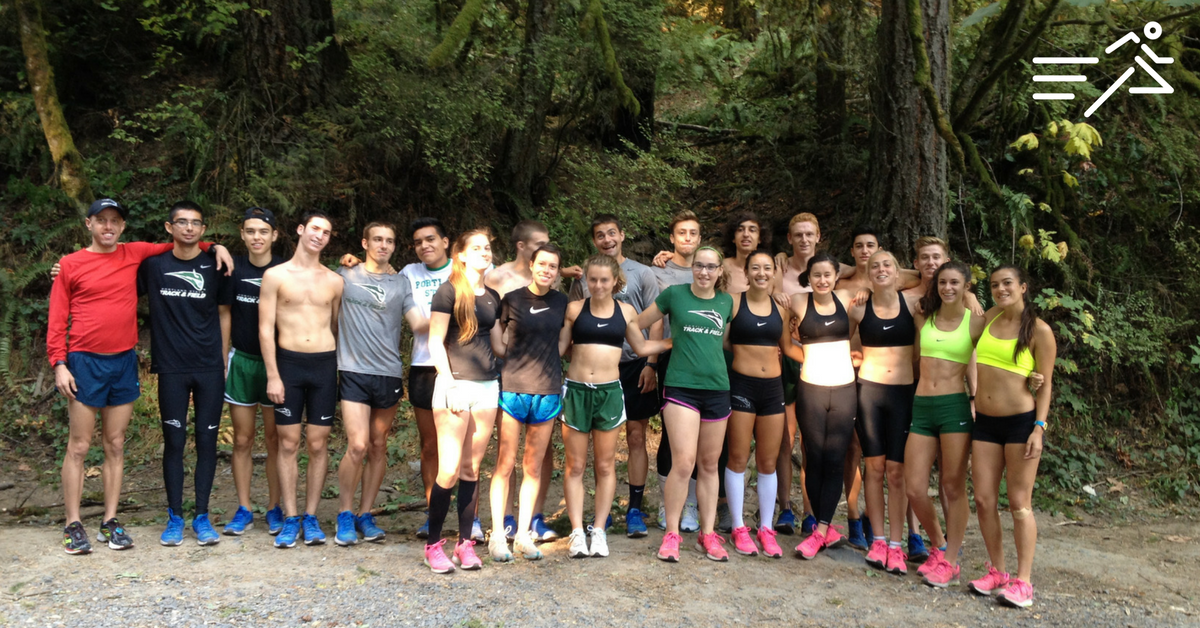 I'm forever thankful for having worked with the 2014 Portland State University Men's & Women's Cross Country teams.