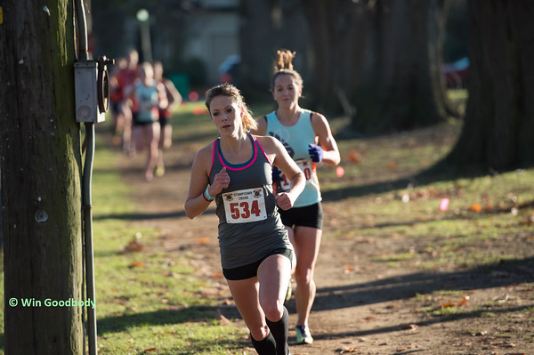Nicole Blood shown sbove competing for HPW during the 2015 cross country season.