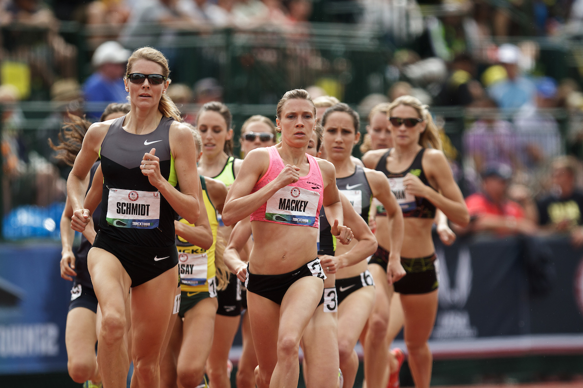 Katie Mackey, 2012 Olympic Trials, Women's 1500m Prelim | photo ©  kevmofoto.com