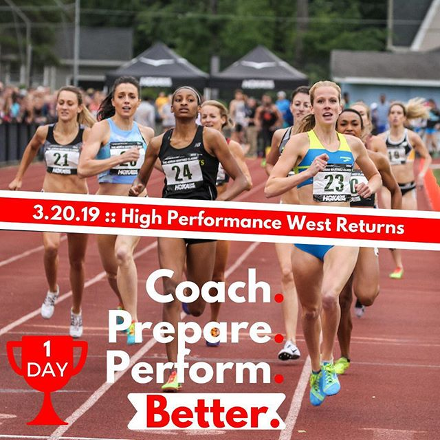 🏆 The New and Better @highperformancewest returns in 1 day to help you Coach, Prepare and Perform better. 📲 Click link on bio to get notified. ☝️ We go live tomorrow — Wednesday, March 20th, 2019!
