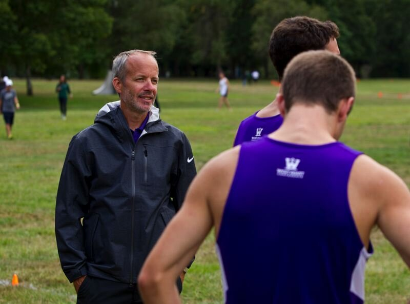 Rob Conner. Long time University of Portland Men's Cross Country/Track & Field Head Coach