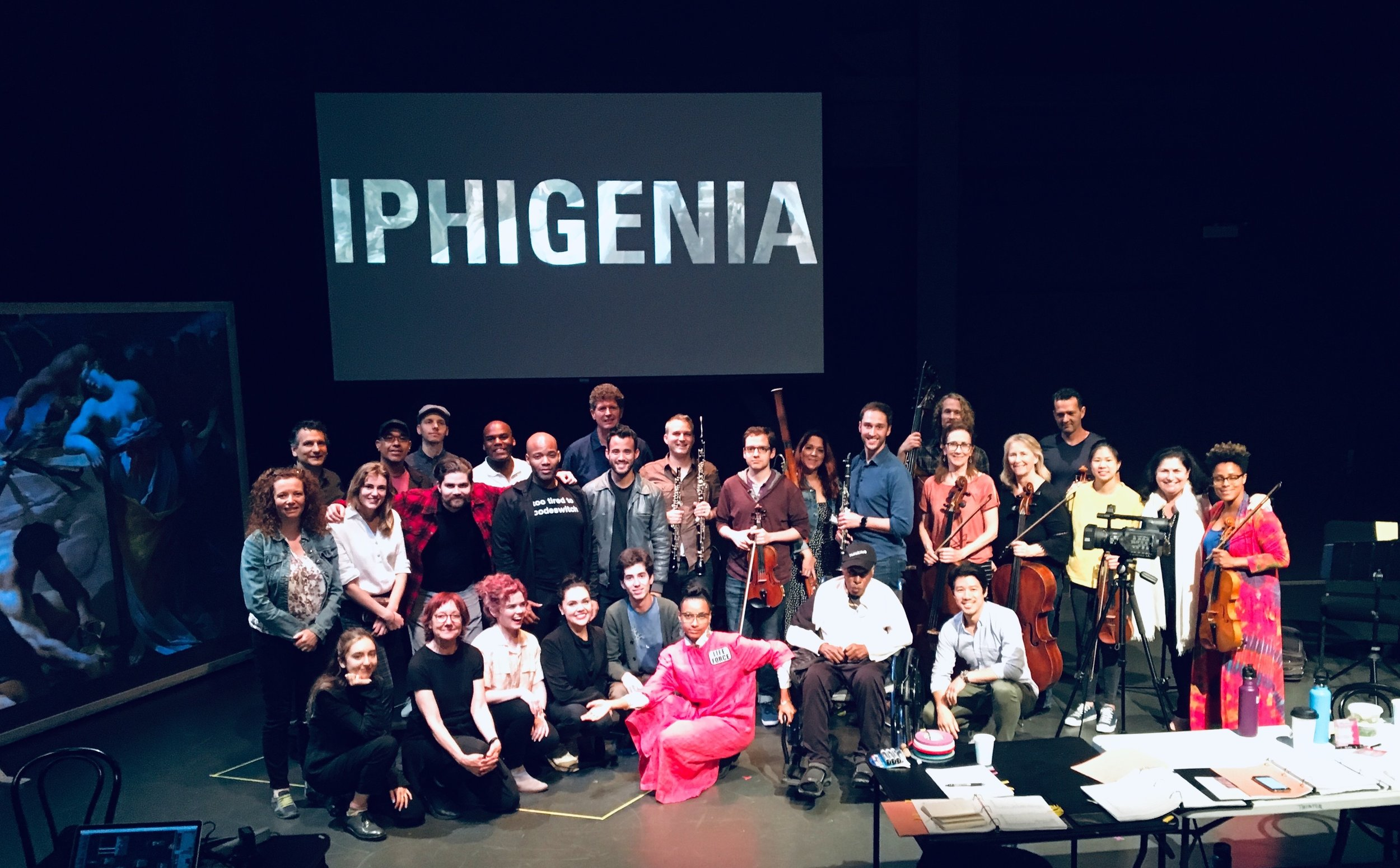 Iphigenia  workshop, The Rosenthal Theater @ Inner City Arts, Los Angeles