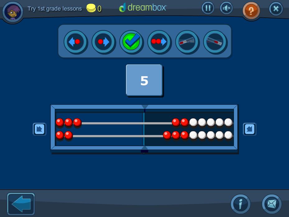 A DreamBox screenshot
