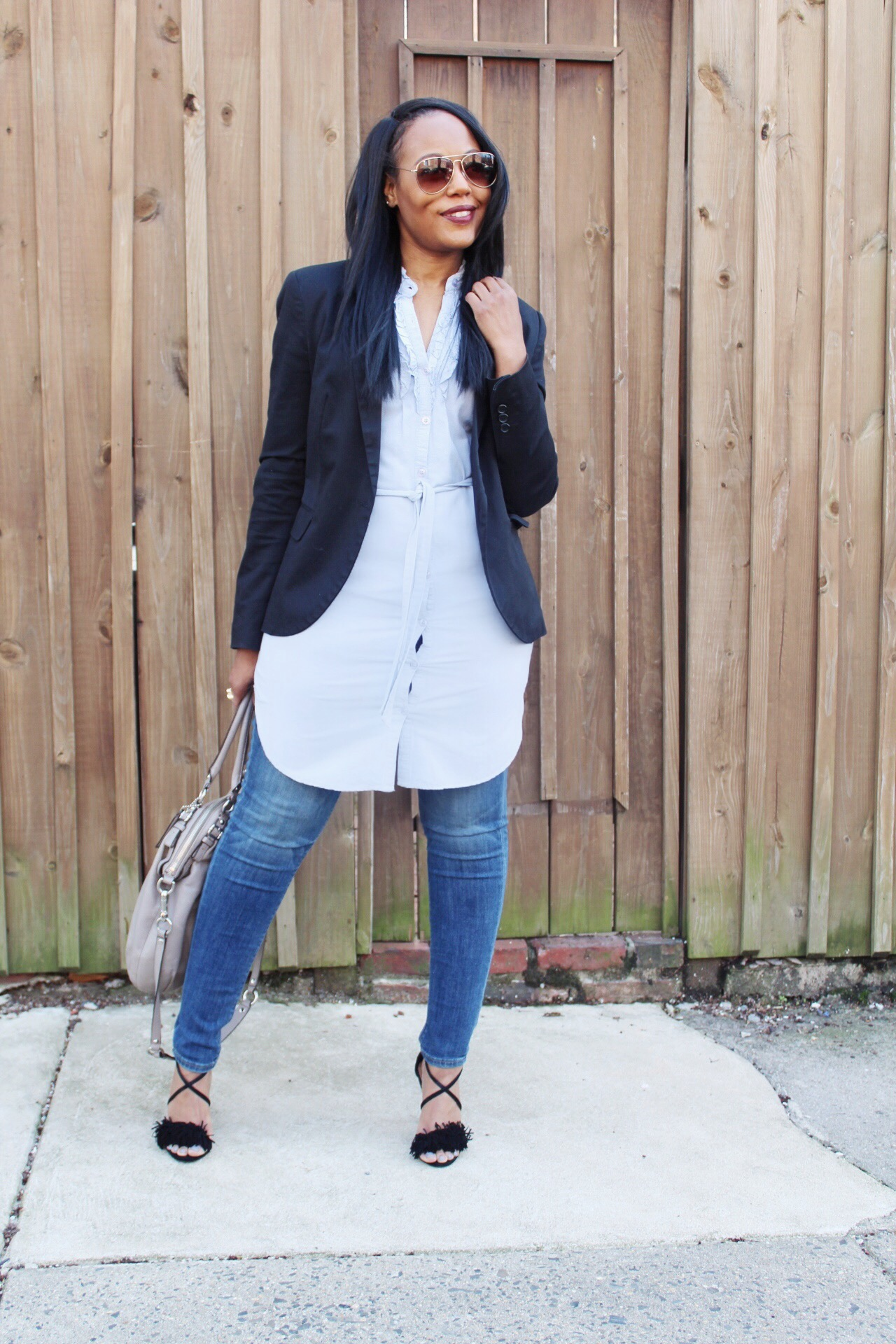 how-to-wear-jeans-to-work