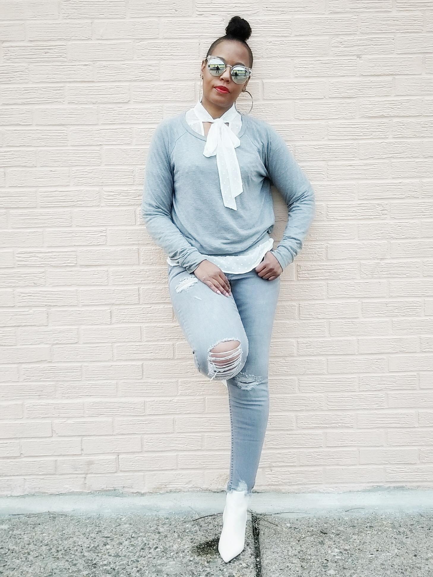 3-Stylish-Ways-To-Wear-One-Sweatshirt