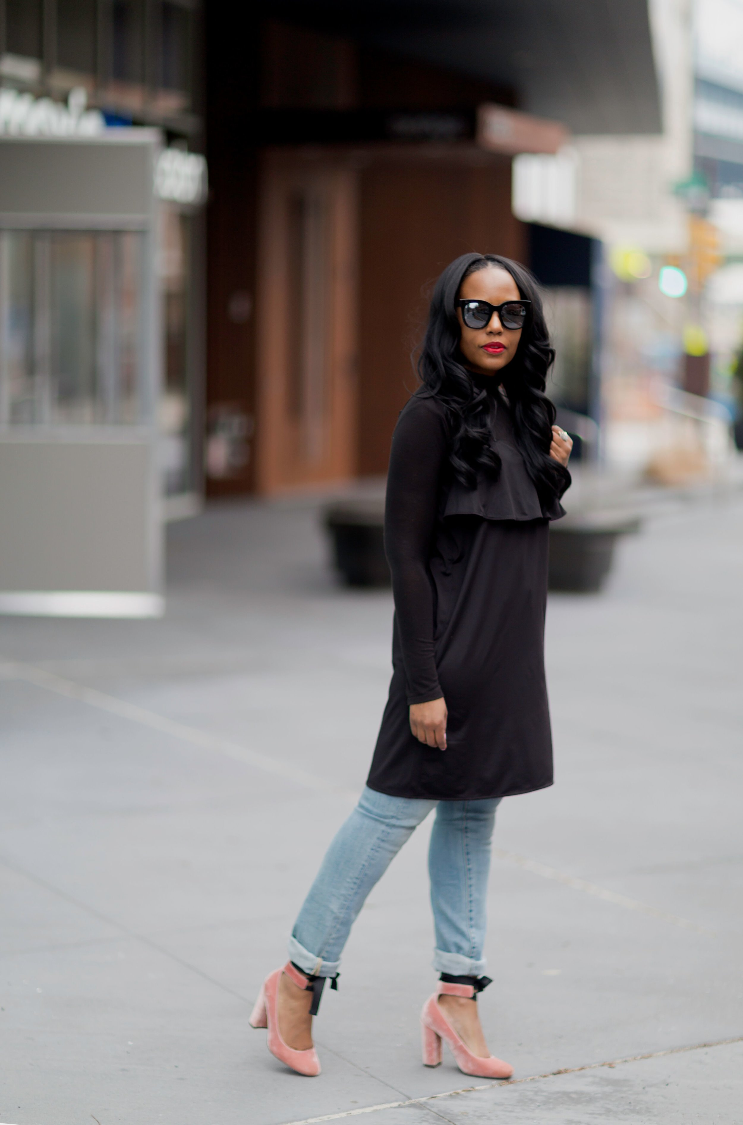 How-To-Wear-A-Slip-Dress-In-The-Winter