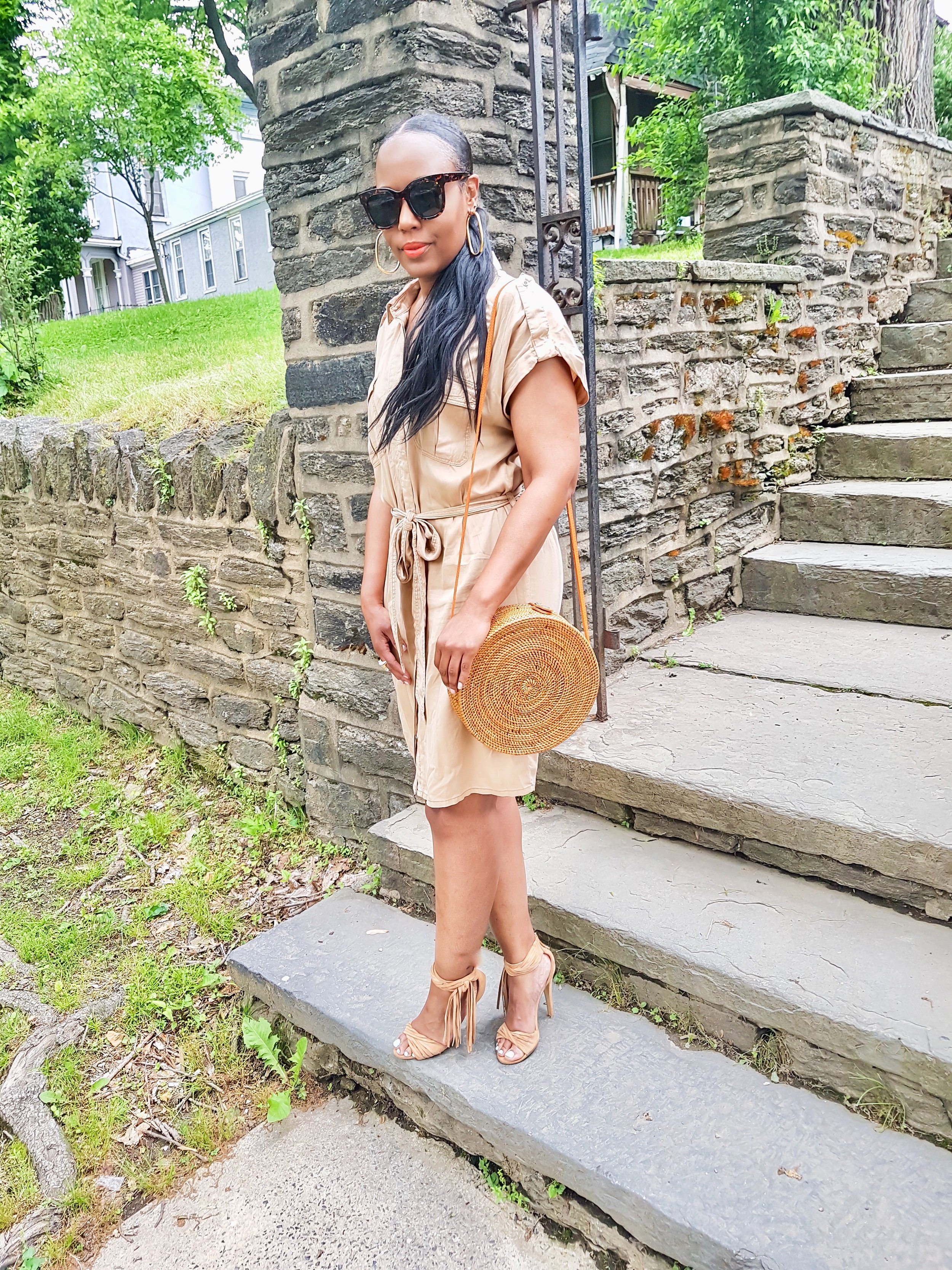A-Simple-Way-To-Style-A-Shirt-Dress